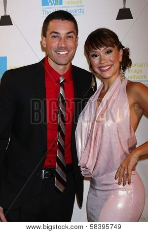 Ace Young, Diana DeGarmo at The 14th Annual Women's Image Network WIN Awards, Paramount Studios, Hollywood, CA 12-12-12