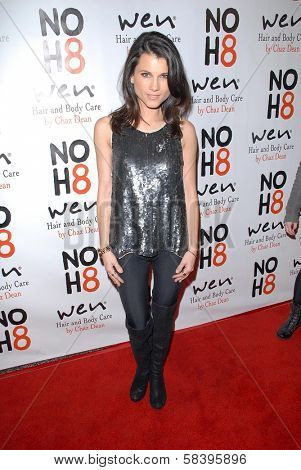 Dana Workman at the NOH8 Campaign 4th Anniversary Celebration, Avalon, Hollywood, 12-12-12