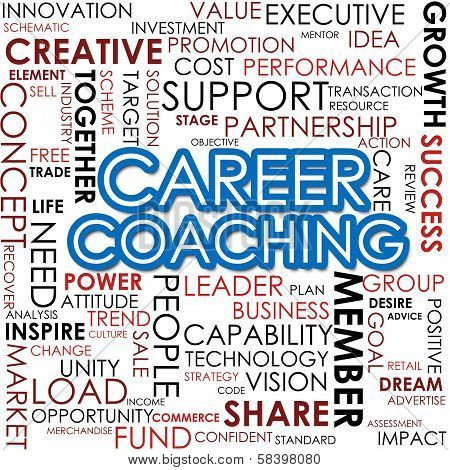 Career Coaching Word Cloud