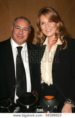 LOS ANGELES - NOVEMBER 3: Neil Koppel and Sarah Ferguson at the