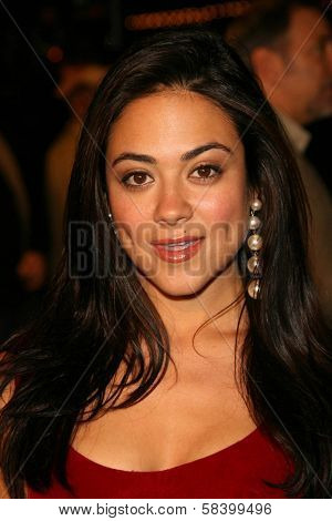 LOS ANGELES - NOVEMBER 16: Camille Guaty at the Los Angeles Premiere of