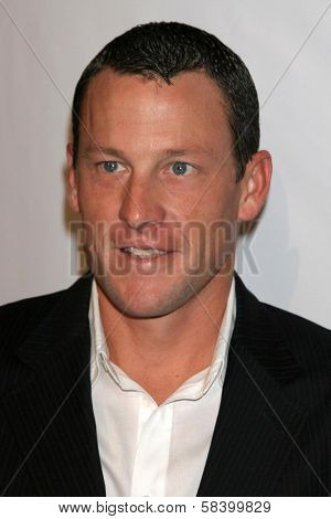 LOS ANGELES - NOVEMBER 21: Lance Armstrong at