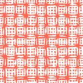 picture of cross-hatch  - Plaid pattern with crossing watercolor lines - JPG