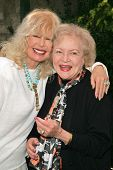 Loretta Swit and Betty White at 2006 Safari Brunch Fundraiser For The Wildlife Waystation. Playboy M