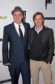 Mike O'Malley, Sam Trammell at the