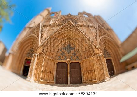 Lala Mustafa Pasha Mosque, Formerly St. Nicholas Cathedral, Famagusta, Cyprus