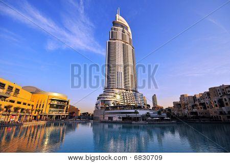The Address Hotel in Dubai