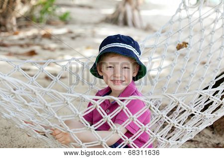 Kid In Hammock