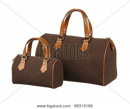 Pair of handbag big and small