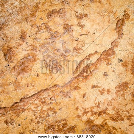 Glossy Wall Red Stone Texture Background.