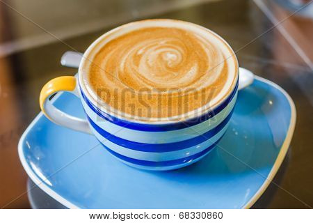 Cup Of Latte Coffee