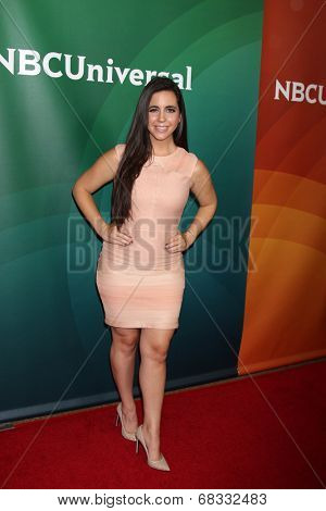 LOS ANGELES - JUL 14:  Samantha DeBianchi at the NBCUniversal July 2014 TCA at Beverly Hilton on July 14, 2014 in Beverly Hills, CA