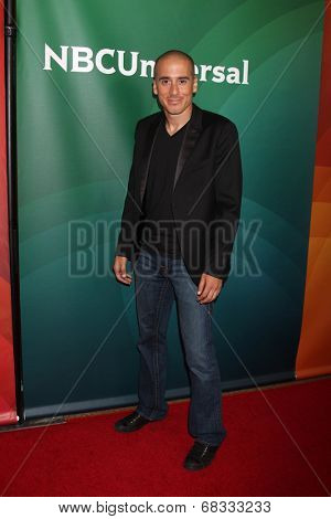 LOS ANGELES - JUL 14:  Kirk Acevedo at the NBCUniversal July 2014 TCA at Beverly Hilton on July 14, 2014 in Beverly Hills, CA