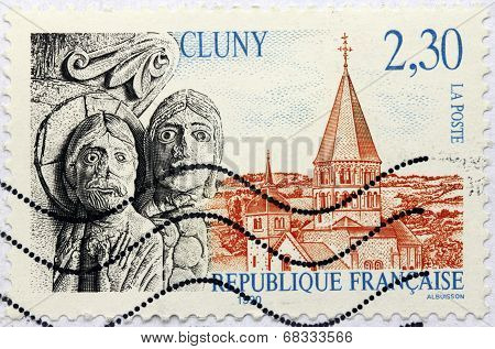 Cluny Stamp