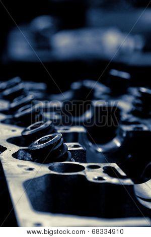 Car engine valve