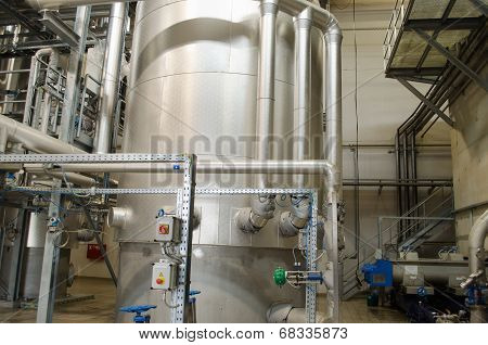 Reservoir Tanks Sludge Digester Storage Dry Biogas