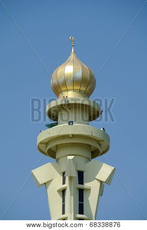 Minaret of Penang State Mosque