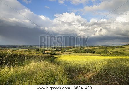 Rain Clouds over Warwickshire