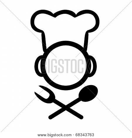 Chef icon design