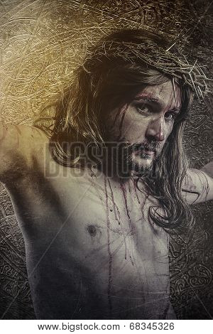 jesus christ, representation of Calvary, passion