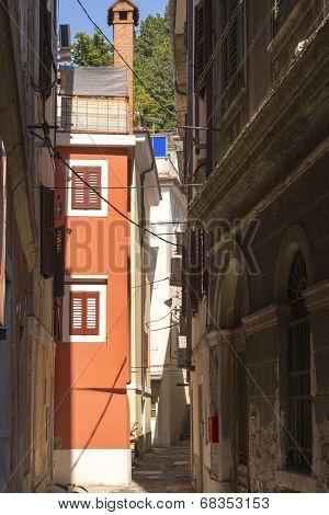 Mediteranean narrow street