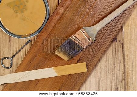 Staining Natural Cedar Wood