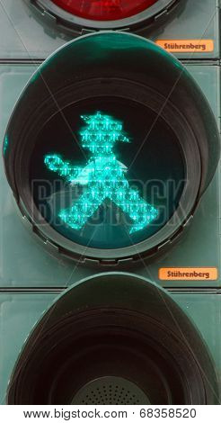Ampelmannchen little traffic light man