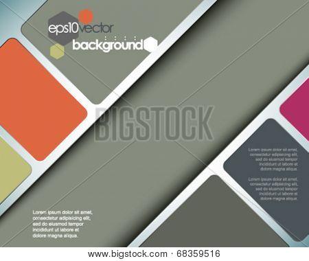 eps10 vector spacious abstract concept background