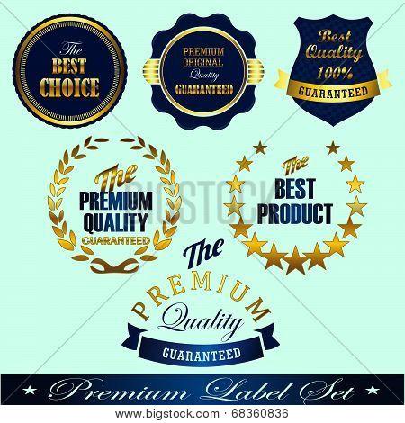 Golden Commerce Labels