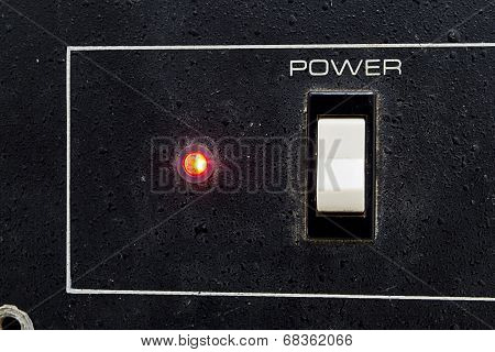 Power switch and led light