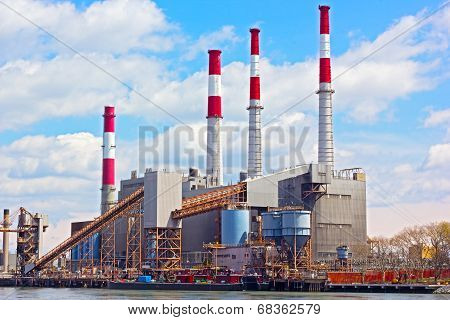 Power plant in New York