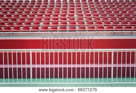 Empty Bleachers