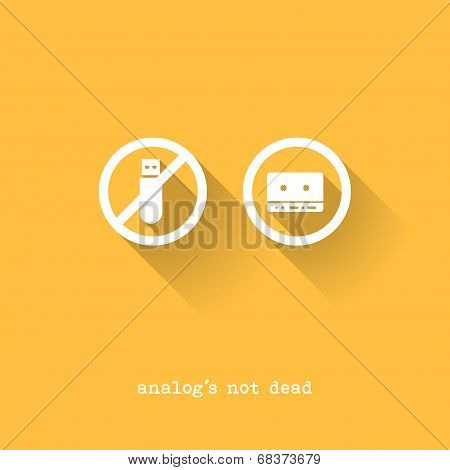 Analog Is Not Dead - Usb Disk Versus Tape