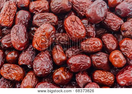 Dried Red Chinese Jujube.