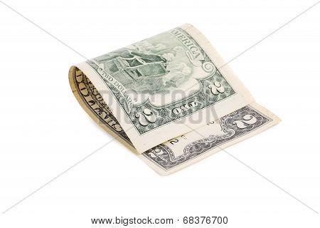 Two dollars bill.