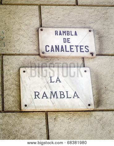 Barcelona Landmark