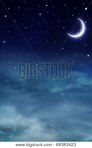 Nightly sky, background