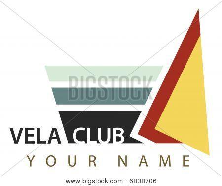 Business logo: Vela club