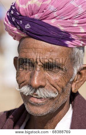 Pushkar Camel Mela , Rajasthan, India.
