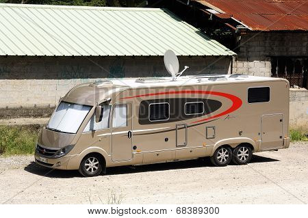 A Large Motorhome