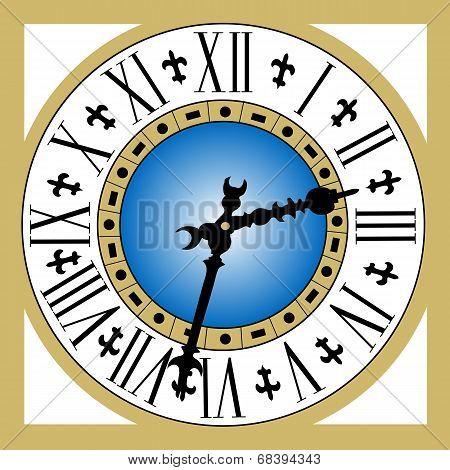 Old Vintage Clock