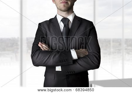 Businessman Crossed Arms