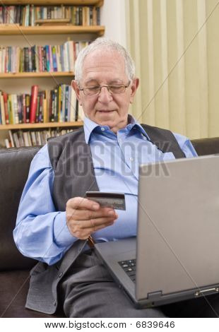 Senior Shopping Online