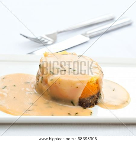 Traditional Scottish Haggis Dish