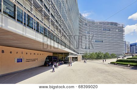 The Berlaymont Office Building