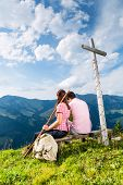 image of bavarian alps  - Hiking  - JPG