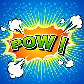 foto of bomb  - Pow - JPG
