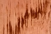 stock photo of rusty-spotted  - rusty metal background with dark spots for design - JPG