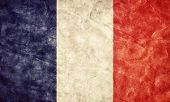 picture of french culture  - France grunge flag - JPG