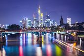 stock photo of cbd  - Frankfurt am Main - JPG